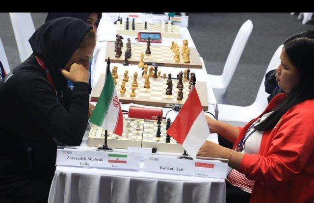 درخشش شطرنج بازان نابینای ایران در جاکارتا، کسب سه طلا، سه نقره و دو برنز تیمی و انفرادی