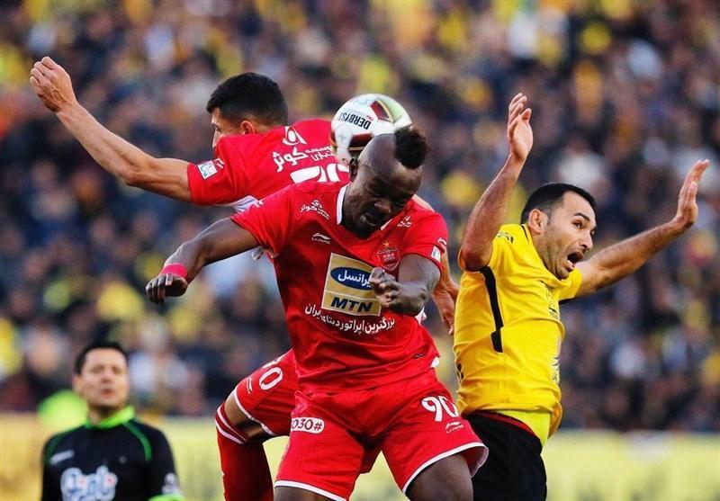 لیگ برتر فوتبال، جدال سپاهان و پرسپولیس در نیمه اول برنده نداشت