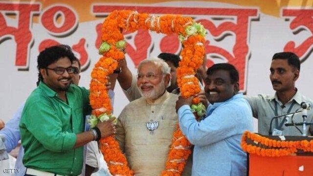 پیروزی قاطع حزب مودی در انتخابات پارلمانی هند