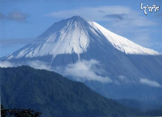 فعال ترین آتشفشان های جهان