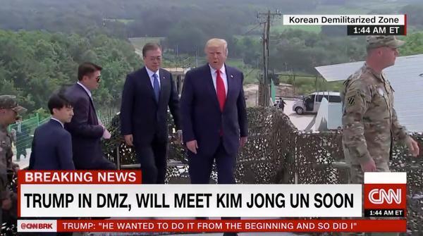 پس از نخستین دیدارم با رهبر کره شمالی، خطر از میان رفته است