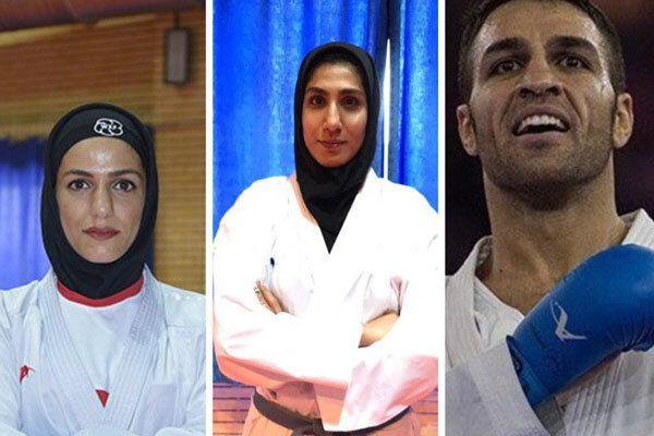 پورشیب، خاکسار و عباسعلی کاراته ایران را طلایی کردند
