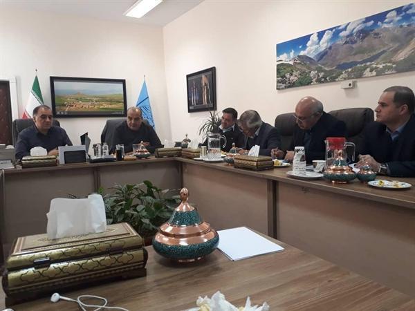برگزاری دومین جلسه کارگروه مشورتی مدیران کل استان ها با معاون توسعه مدیریت سازمان میراث فرهنگی