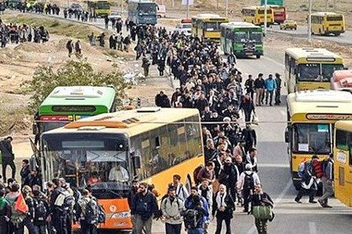 با متخلفان نرخ کرایه در مرز مهران برخورد شد ، اعلام نرخ پارکینگ ها