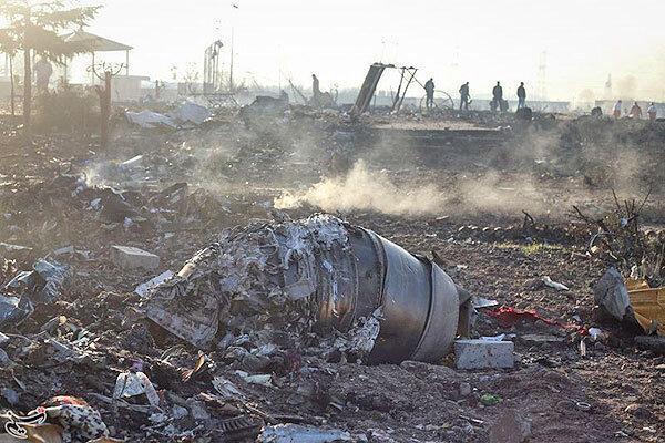 هر دو جعبه سیاه هواپیمای اوکراینی پیدا شد ، انتقال اجساد به پزشکی قانونی